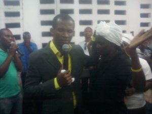 ministering in Accra Ghana